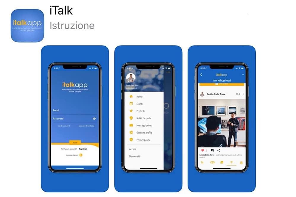 App I Talk Università Cattolica di Milano