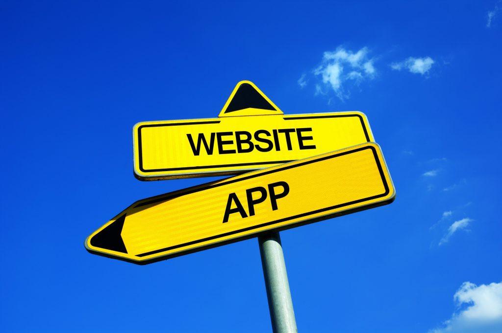 Qual è la differenza tra app e sito web?