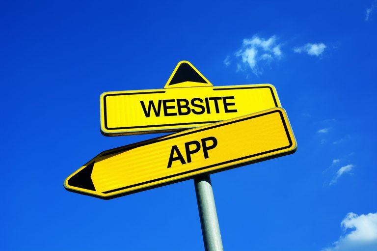 differenza app sito web