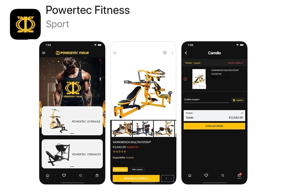I vantaggi di un'app e-commerce per attrezzi sportivi
