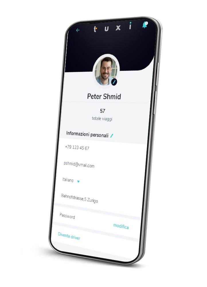 realizzazione app taxi